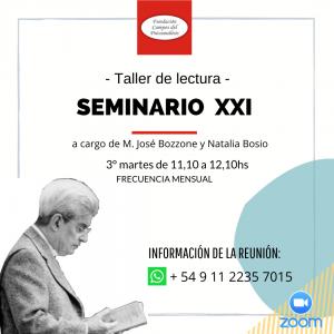 11.10hs Seminario XXI