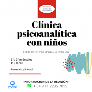 11hs Clínica Psicoanalítica con Niños